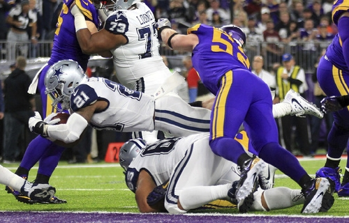 Cowboys hold on against Vikings for 11th straight win The Associated Press
