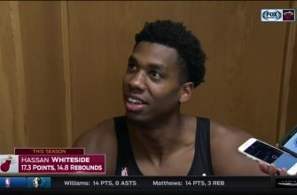 Hassan Whiteside says teams run a risk focusing solely on him