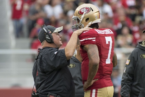 The chemistry between Chip Kelly and Colin Kaepernick