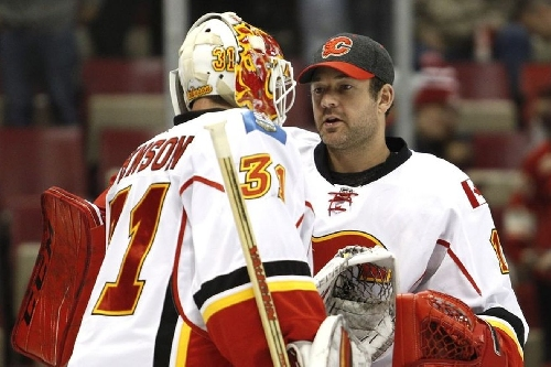 Fan Poll Friday: Which Flames Goalie Mask Do You Like Best?