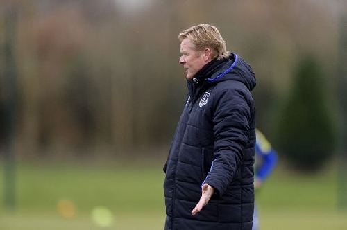 Everton comment: Koeman says what's black and white really matters at the moment