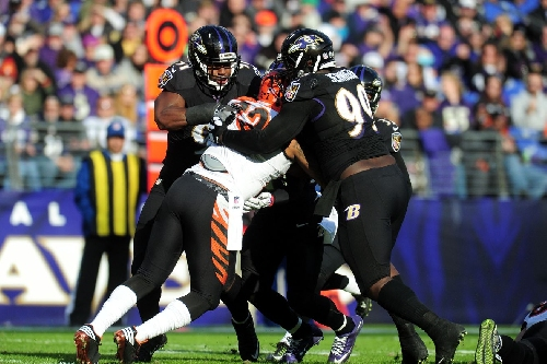 The Baltimore Ravens defensive line is dominant and becoming more frightening