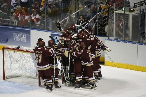 PREVIEW AND PREDICTIONS: Boston College Hockey vs. North Dakota Fighting Hawks