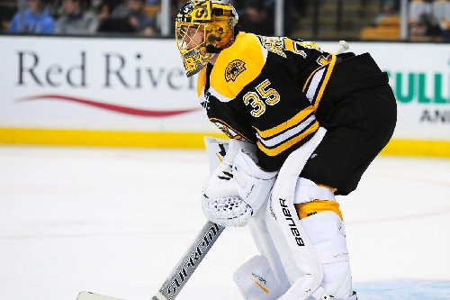 Bruins Play Badly, Saved By Khudobin