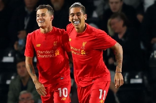 Liverpool pair Roberto Firmino and Philippe Coutinho nominated for Brazil's Samba Gold award