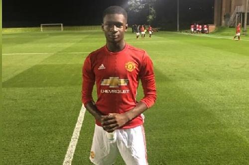 Manchester United lose Yeboah Amankwah to Man City