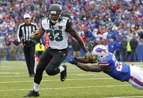 Jaguars rule out RB Ivory, WR Hurns; TE Thomas doubtful The Associated Press