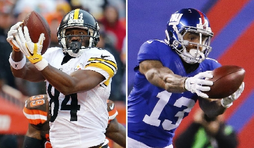 Good friends Brown, Beckham look to one-up another Sunday The Associated Press