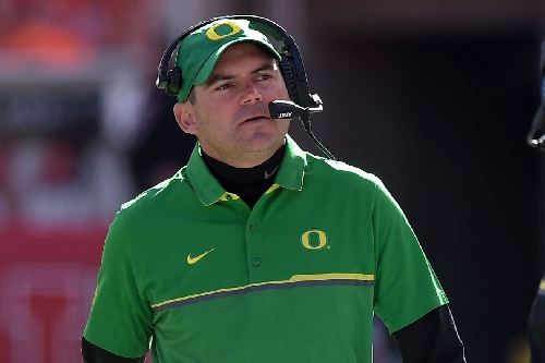 Mark Helfrich speaks on the record regarding Chip Kelly and Oregon