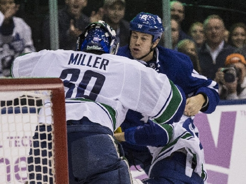 Maple Leafs vs. Canucks: 'There's always a lot of talk and nothing happens. So let's play the game.'
