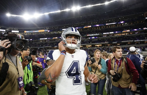 Bryant on rolling Cowboys: Plan 'way bigger than being 11-1' The Associated Press
