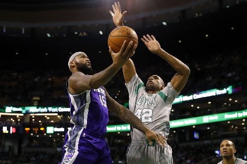 Horford's block on Cousins seals 97-92 Celtics win