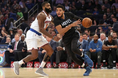 Knicks 118, Timberwolves 114: Scenes from Kyle O'Quinn's unexpected masterpiece