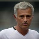 FILE - In this July 24, 2016, file photo, Manchester United manager Jose Mourinho speaks to the media before the team's training session at the Olympic Sports Center Stadium in Beijing. A group of European media outlets on Friday, Dec. 2, 2016, publis