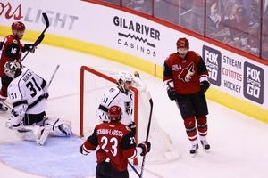 Coyotes begin 'crucial stretch' vs. Jackets
