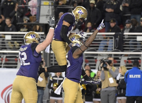 Washington routs Colorado to win Pac-12 championship