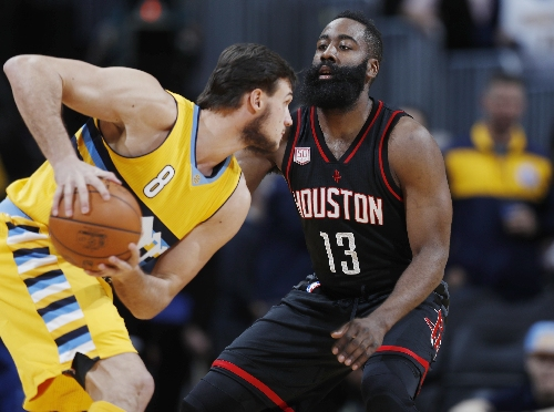 Rockets bury the Nuggets in a barrage of 3-pointers