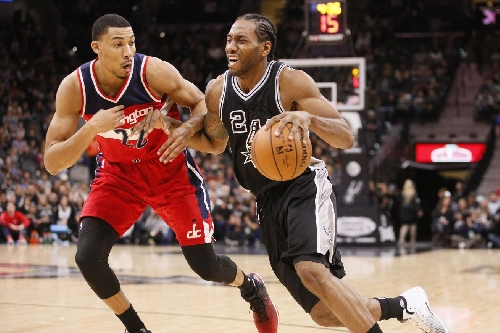 Spurs overcome slow start and finish strong, edge the Wizards 107-105.