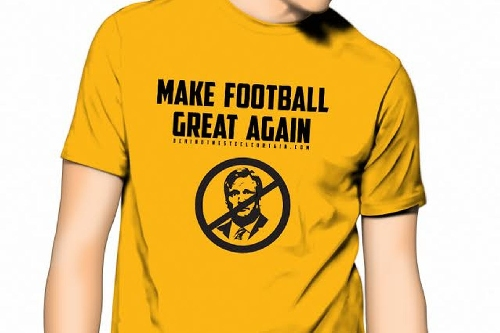 """Help """"Make Football Great Again"""" with the latest BTSC t-shirt"""