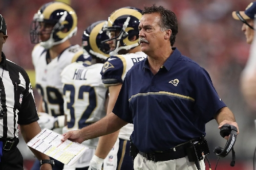 Eric Dickerson wants to know 'where are the naked pictures' or whatever it is keeping Jeff Fisher employed