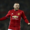 Manchester United's Wayne Rooney reacts after missing a chance to score a goal during the English League Cup quarterfinal soccer match between manchester United and West Ham United at Old Trafford in Manchester, England Wednesday, Nov. 30, 2016. (AP P