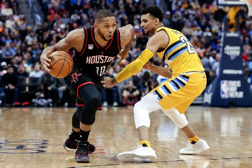 Rockets fight adversity, make quick work of Nuggets