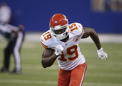 Chiefs' Jeremy Maclin downgraded to out for game in Atlanta The Associated Press