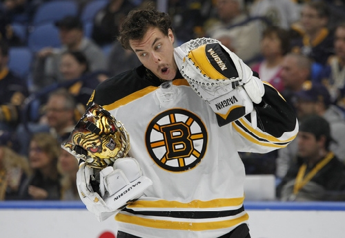 Rask stops 35 shots in Bruins' 2-1 win over Sabres The Associated Press