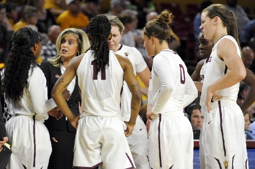 ASU WBB: Young backcourt begins to come together in win over Boston