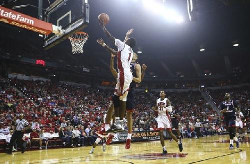 UNLV Basketball at Arizona State — LIVE STATS