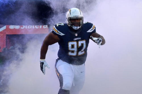 Chargers send Attaochu to IR, call up Carrethers