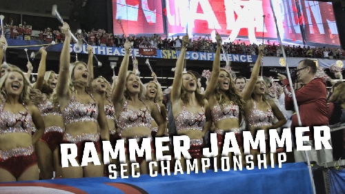 Watch Alabama's raucous SEC Championship edition of Rammer Jammer