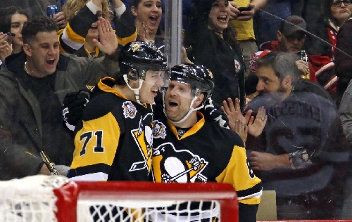 Kessel helps Penguins rally past Red Wings 5-3 The Associated Press