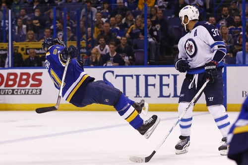 Laine sets up Little in OT, Jets beat Blues 3-2 The Associated Press