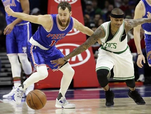 Thomas' 37 points lead Celtics past 76ers The Associated Press