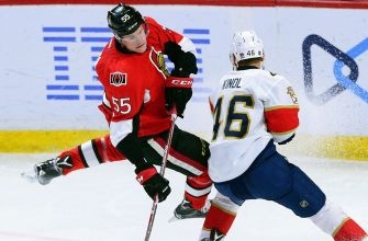 Panthers go down early, can't claw back against Senators