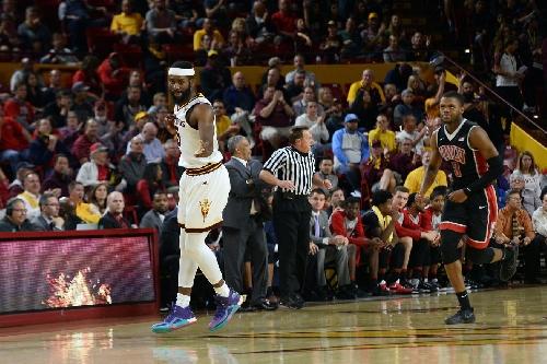 ASU Basketball: Sun Devils run-and-gun their way to 97-73 win over Runnin' Rebels