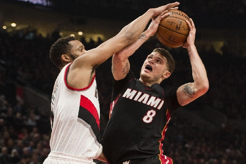 Heat squander late lead, lose to Blazers 99-92