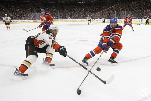 Draisaitl scores in OT, Oilers snap Ducks' 3-game win streak The Associated Press