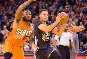 Suns can't keep up with Curry, Warriors in rout