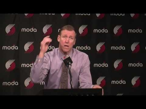 Watch: Terry Stotts impressed with defense in Portland's win over Miami Heat