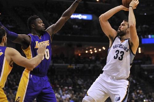 Lakers vs. Grizzlies Final Score: Lakers falter late in 103-100 loss
