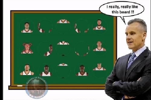 Sounds of Thunder: Oklahoma City Thunder Head Coach Billy Donovan has altered the experiment
