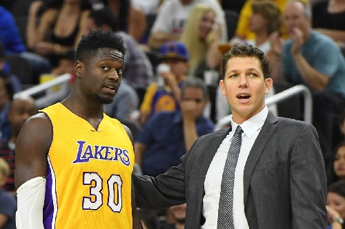 Luke Walton says the Lakers are Julius Randle's team 'as much as anybody else's'