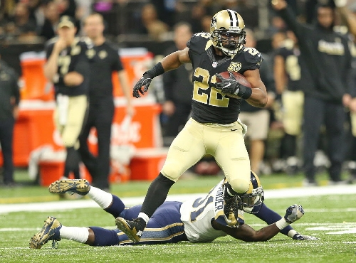 Mark Ingram, listed as questionable, will play against Lions, report says