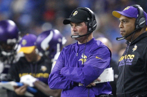 Mike Zimmer may have to drive 1,400 miles for his return to the sidelines in Week 14