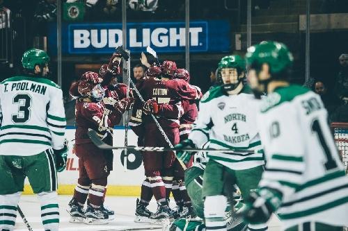 GOAL BY GOAL: BC Men's Hockey Comes Up Just Short Against North Dakota, 4-3