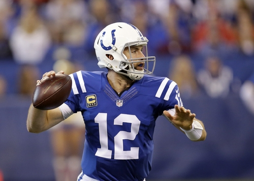 Colts look to keep Luck upright against sack-hungry Jets The Associated Press
