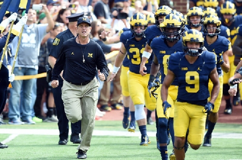 Michigan will play Florida State in the Orange Bowl