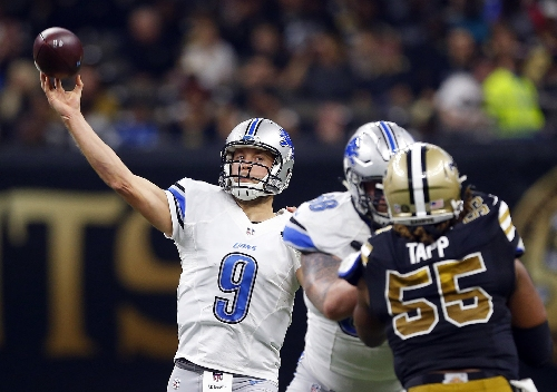 Matthew Stafford sets Lions record during sizzling first half